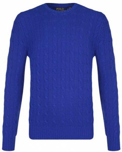 Синий свитер кашемировый Polo Ralph Lauren