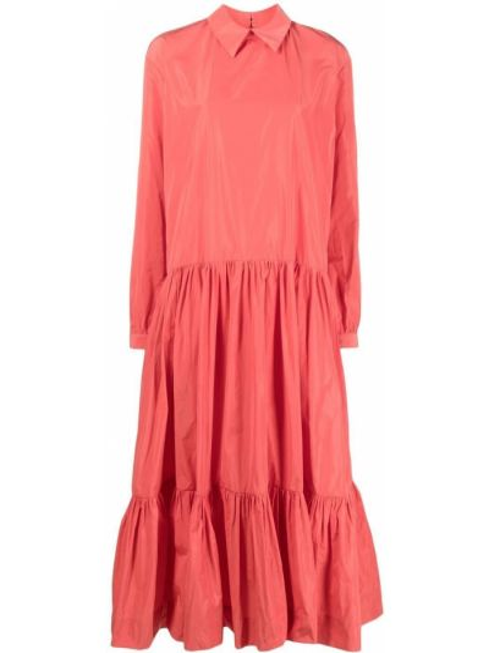 Klasyczna sukienka długa z długimi rękawami Antonio Marras