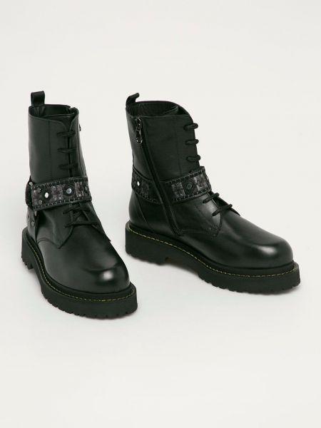 Кожаные ботинки Pinko