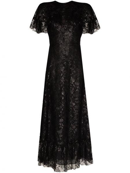Sukienka dla wysokich kobiet czarny The Vampire's Wife