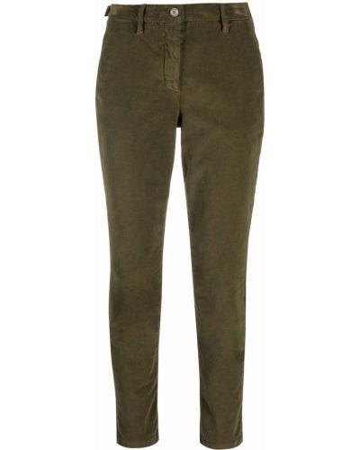 Укороченные брюки - зеленые Jacob Cohen