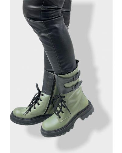 Ботинки - зеленые Teona