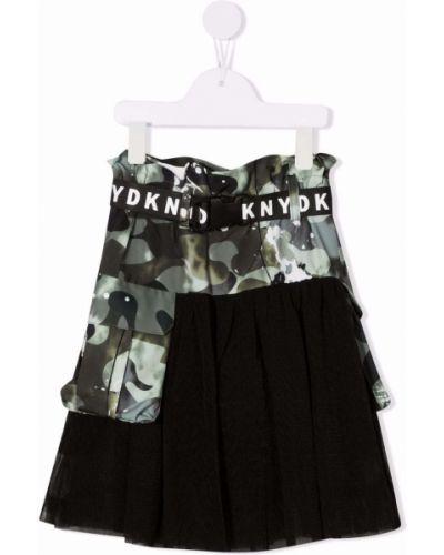 Spódnica tiulowa - czarna Dkny Kids