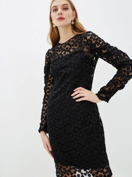 Черное повседневное платье Akris Punto