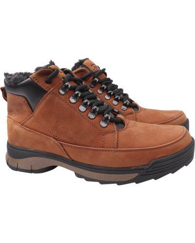Кожаные ботинки - коричневые Vadrus