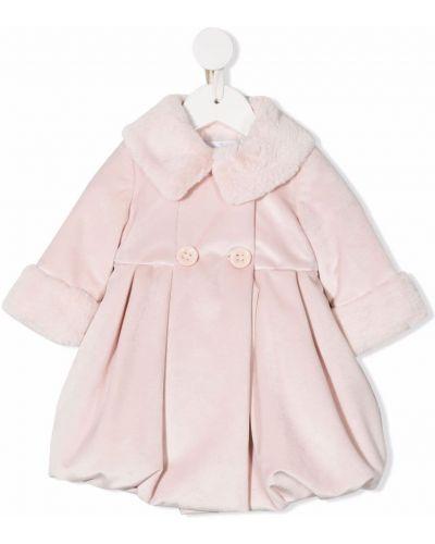 Różowy klasyczny płaszcz Colorichiari