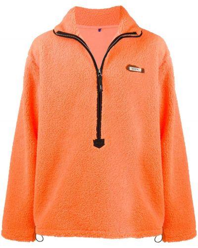 Długa kurtka, pomarańczowy Ader Error