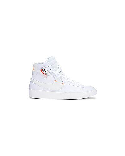 Пиджак белый на молнии Nike