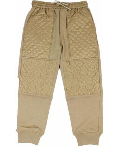 Spodnie dresowe bawełniane Burberry