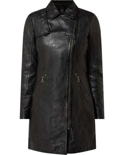 Płaszcz skórzany - czarny Gipsy