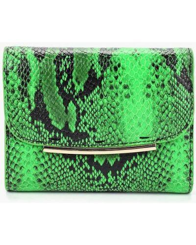 Зеленый кошелек итальянский Leo Ventoni
