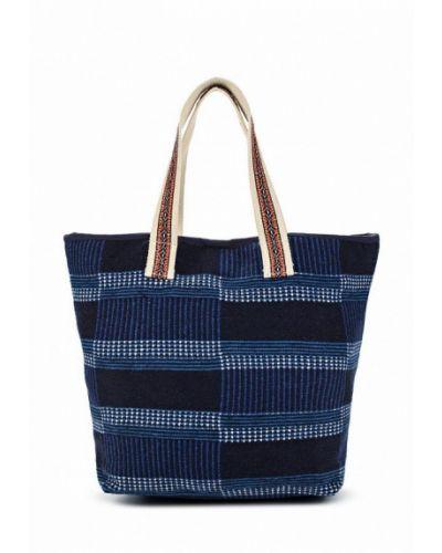 Синяя пляжная сумка Gap