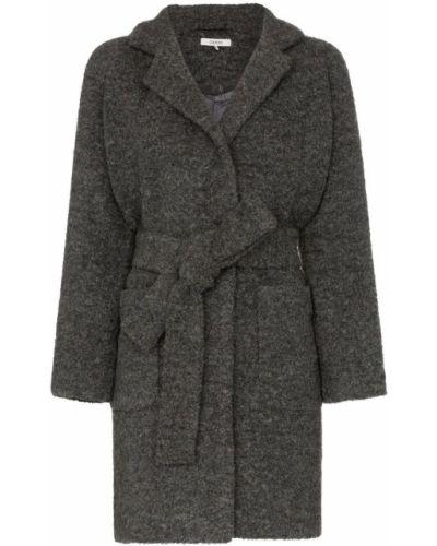 Пальто с капюшоном Ganni
