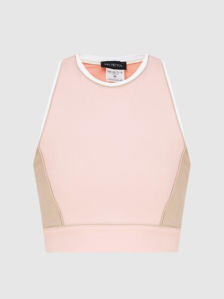 Розовый спортивный топ Moeva