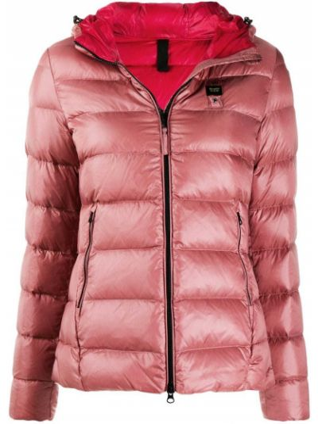 Розовая куртка с капюшоном Blauer