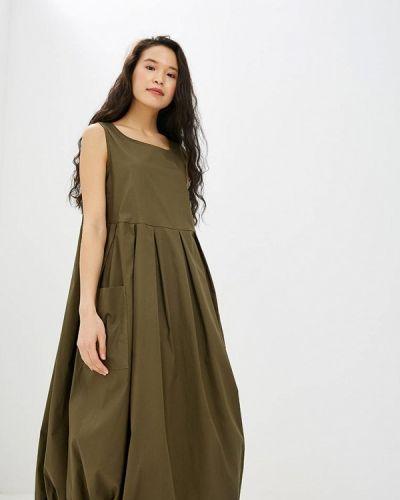 Платье - хаки Massimiliano Bini