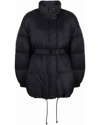 Черная куртка длинная Isabel Marant étoile