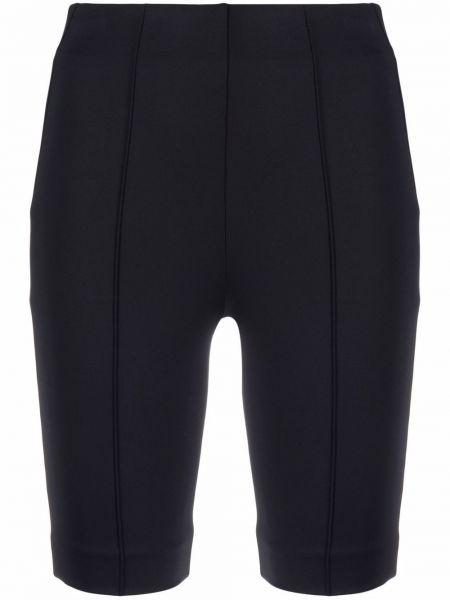 Черные шорты с завышенной талией на шпильке Ambush