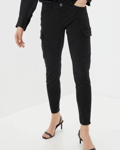 Черные брюки карго Sublevel