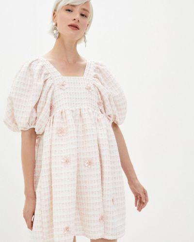Розовое прямое платье Sister Jane