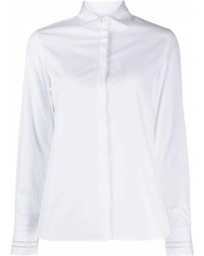 Пуховая рубашка с воротником с манжетами Barba