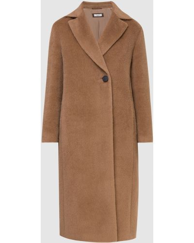 Бежевое пальто из альпаки Peserico