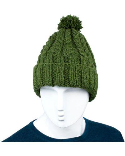 Флисовая шапка - зеленая Kathmandu