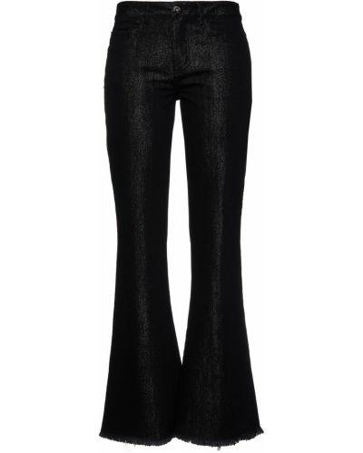 Mom jeans bawełniane - czarne Marques Almeida
