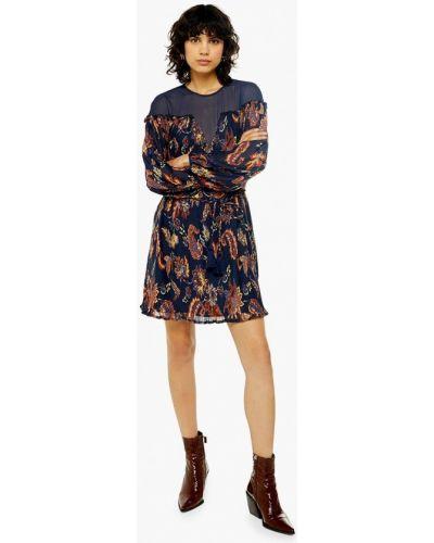 Платье прямое осеннее Topshop