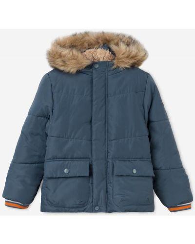 Джинсовая куртка с мехом Gloria Jeans