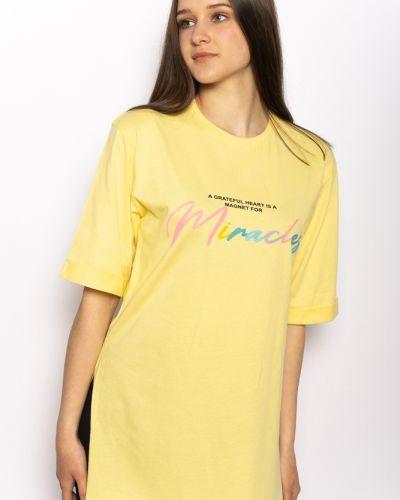 Желтая футболка с надписью Time Of Style
