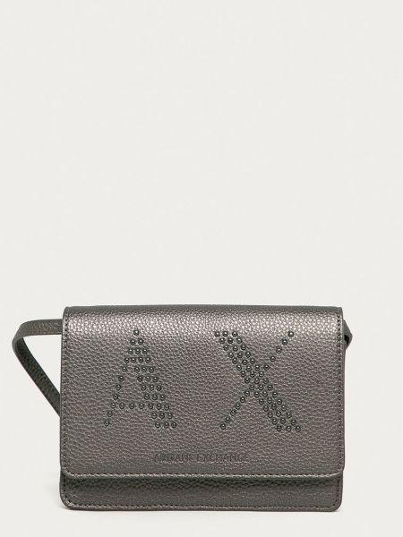 Серая сумка через плечо с подкладкой Armani Exchange