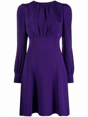 Фиолетовое платье длинное Dolce & Gabbana