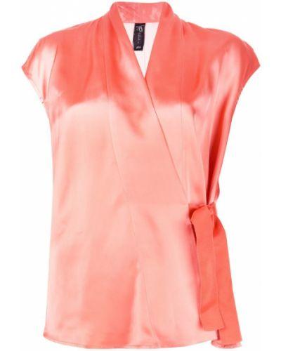 Укороченная блузка - оранжевая Zero + Maria Cornejo