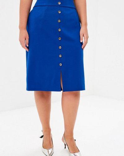 Синяя юбка Sparada