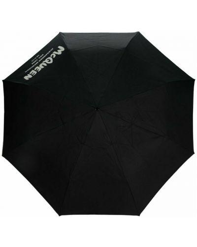 Parasol - czarny Alexander Mcqueen
