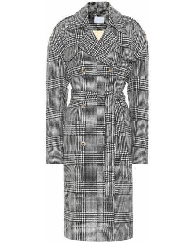 Шерстяное пальто классическое Magda Butrym