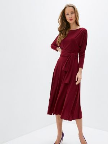 Бордовое платье Sultanna Frantsuzova