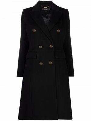 Шерстяное пальто - черное Lauren Ralph Lauren