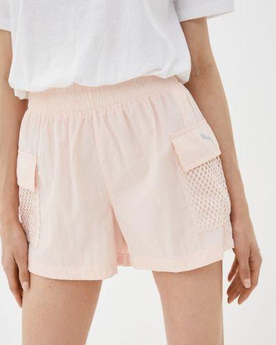 Спортивные шорты - розовые Puma