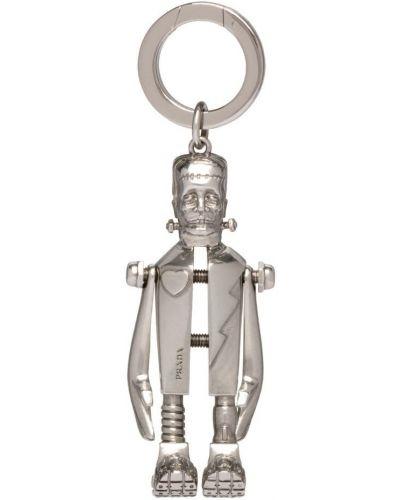 Брелок серебряный из серебра Prada