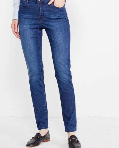 Синие джинсы-скинни Cerruti 1881