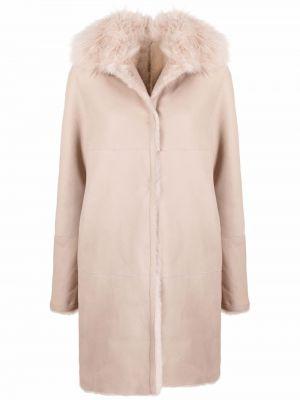 Пальто с потайной застежкой Manzoni 24