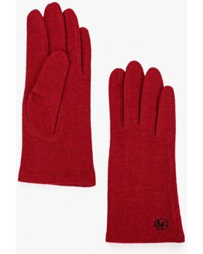 Красные перчатки текстильные Vitacci