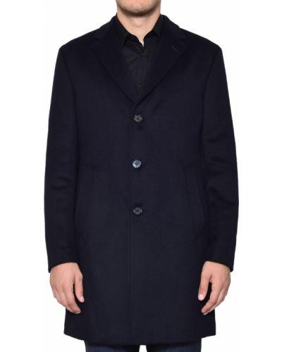 Шерстяное пальто - синее Joop!
