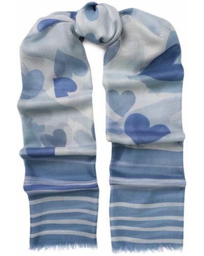 Синий шарф Loro Piana