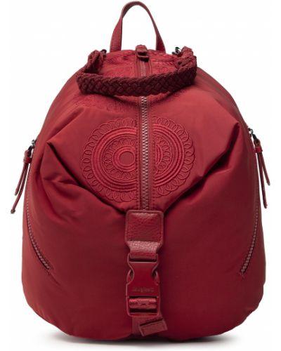Plecak - czerwony Desigual