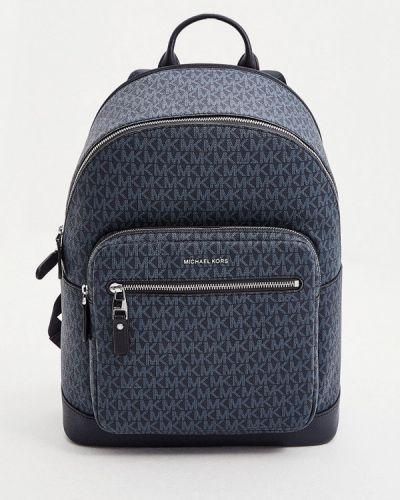 Хлопковый рюкзак - синий Michael Kors