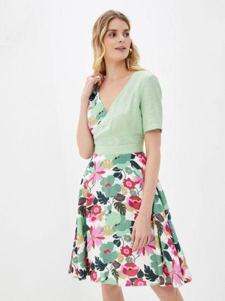 Зеленое платье Kristina Kapitanaki