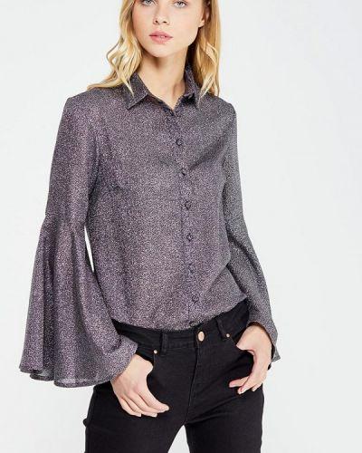 Блузка с длинным рукавом серебряный Lost Ink.